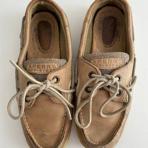 Sperry Top Sider Rosefish Tan Boat Shoe